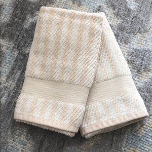 RALPH LAUREN Stripe Hand Towels
